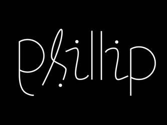ambigram:phillip