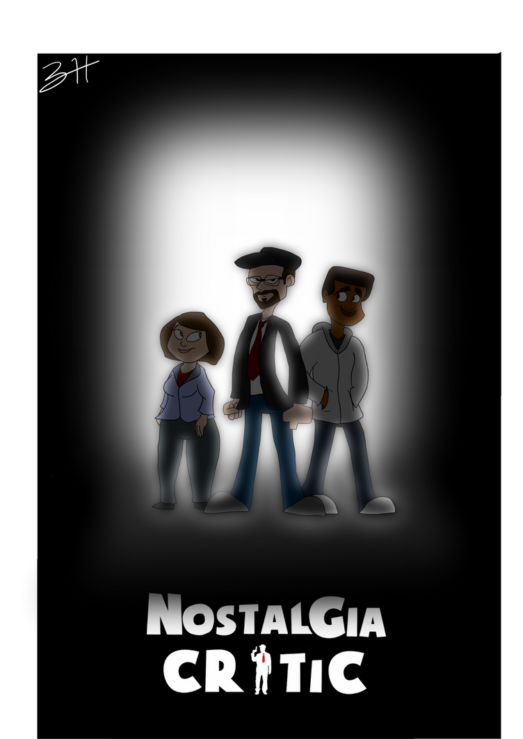 Nostalgia Critic Poster  by zharthouse