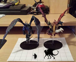 Bahamut and Tiamat scaling