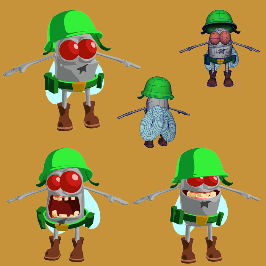 Cartoon Characters 2010 : Cartoon character by craffaelli on deviantart