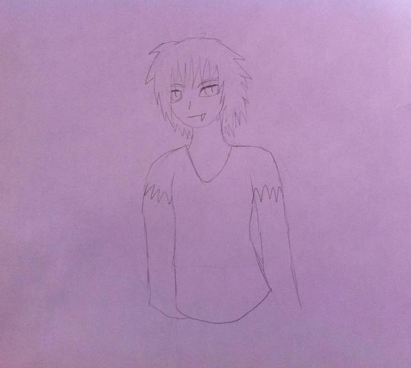 Orochi Sketch by Shin-Fei
