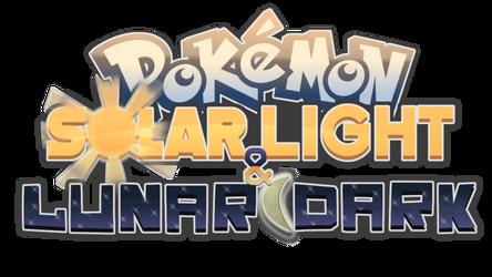 Pokemon Solar Light and Lunar Dark Logo by Chai-Tao