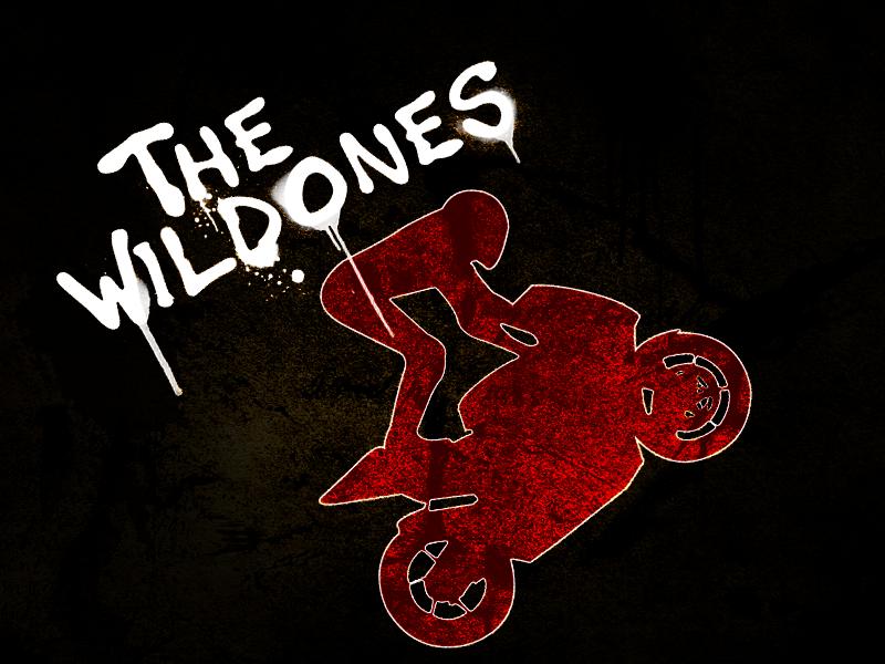 The Wild Ones logo wallpaper