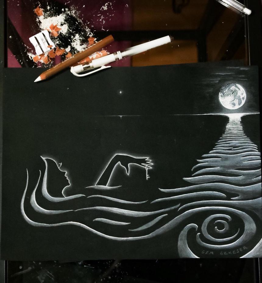 Moon  Girl by ULTRA-HACI