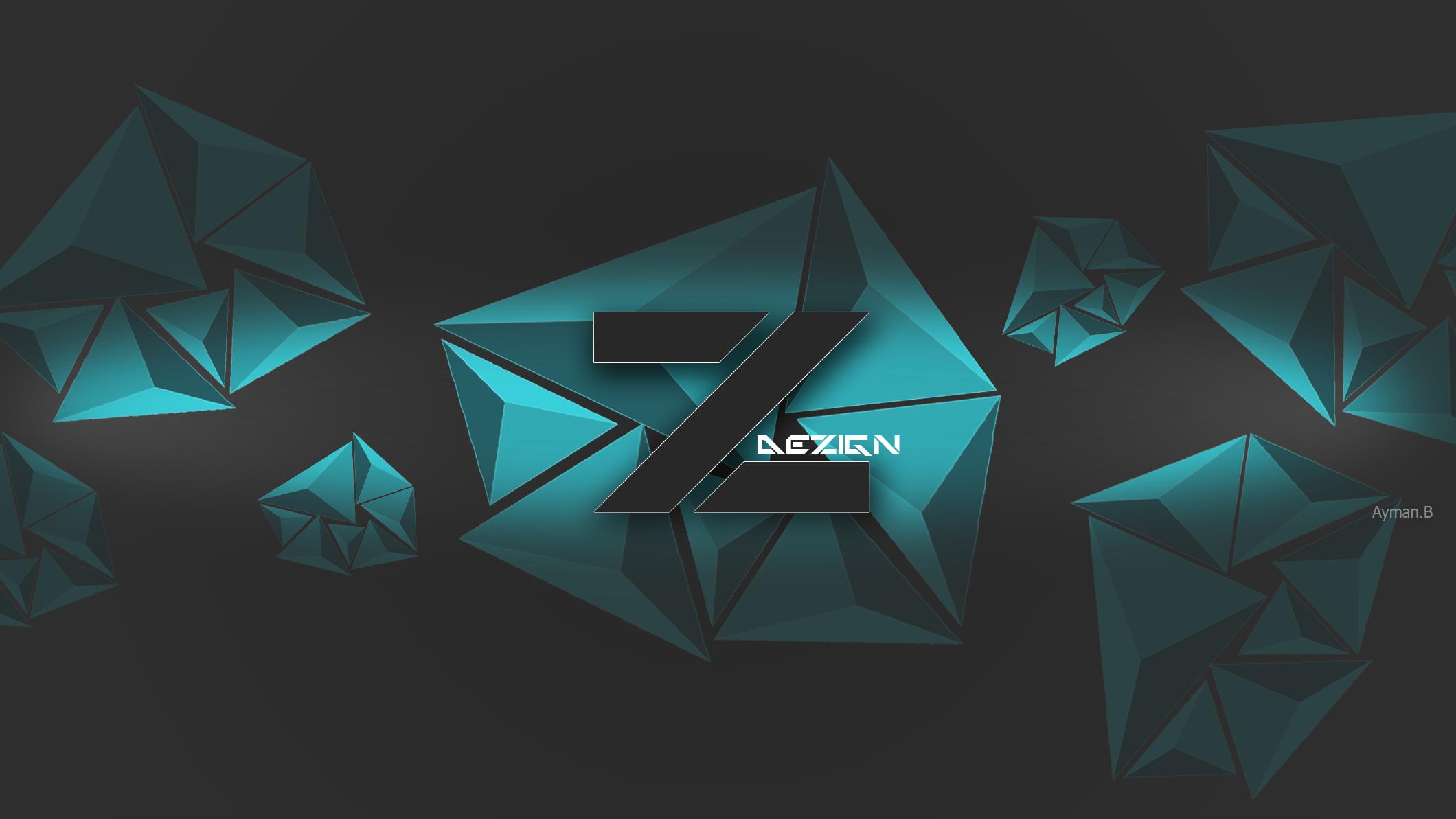 Zero design youtube banner by ayman-b001 on DeviantArt