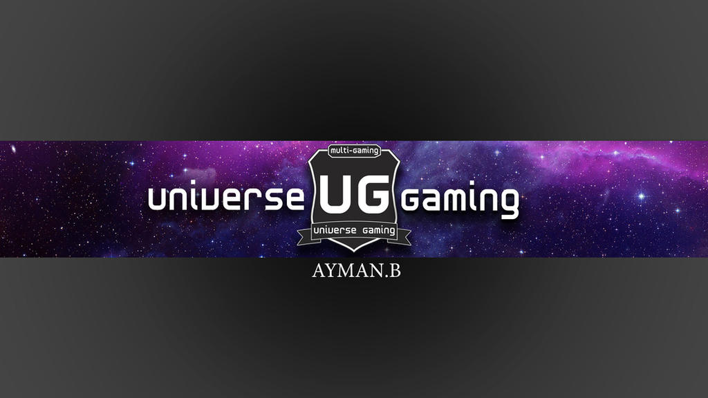 Universe Gaming youtube banner by ayman-b001 on DeviantArt