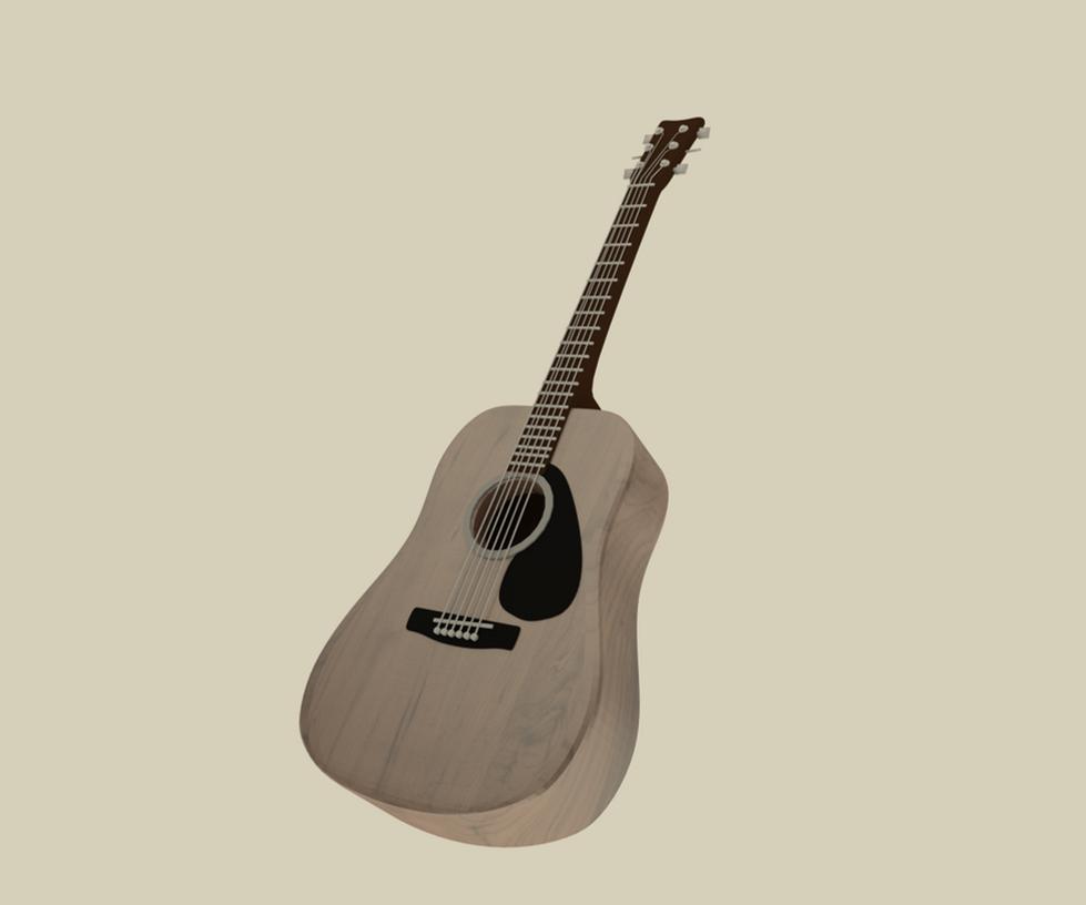 Guitar by ayman-b001