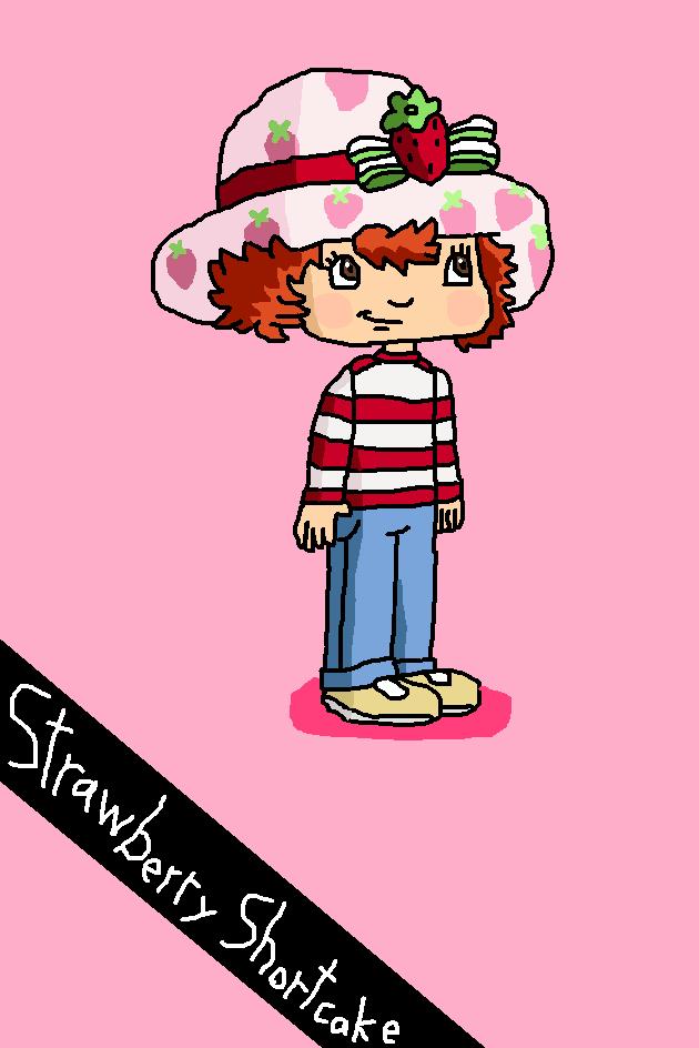 Character Info Strawberry Shortcake By Calebforwell On Deviantart