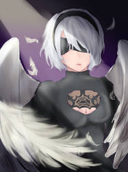 2B Angel Test by Ann10158