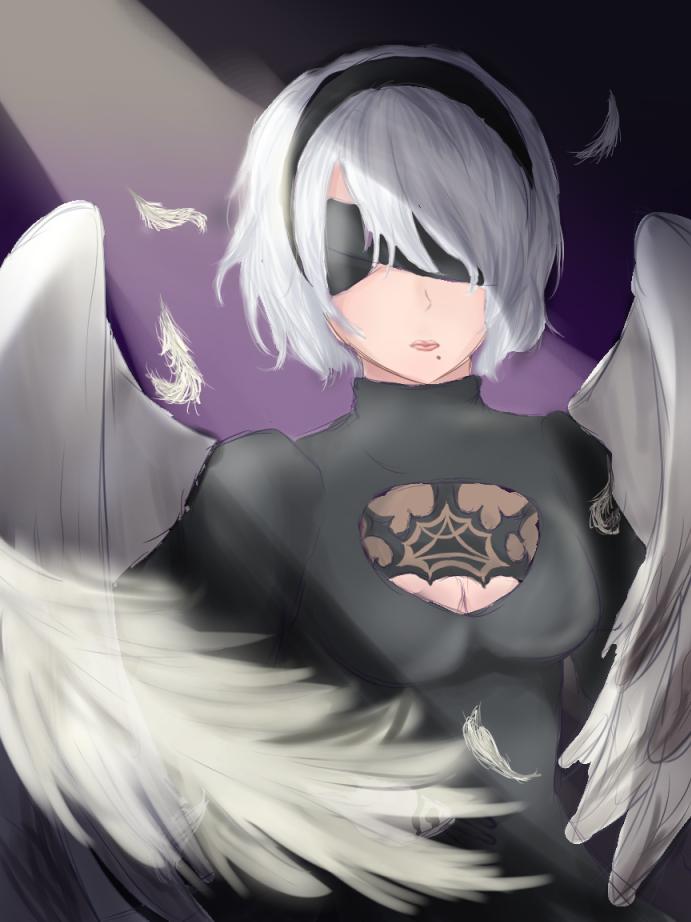 2B Angel Test by Ann10158