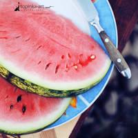 watermelon by topinka