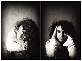 self portrait by Olga-Zervou