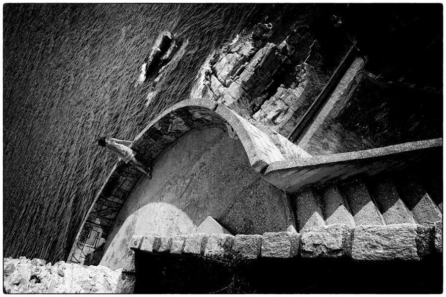 Stairway to Loneliness by Olga-Zervou