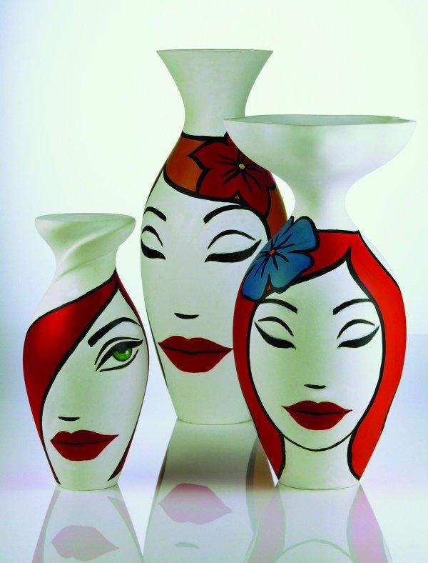 Rosenthal Vases Faces By Ekaterinamore On Deviantart