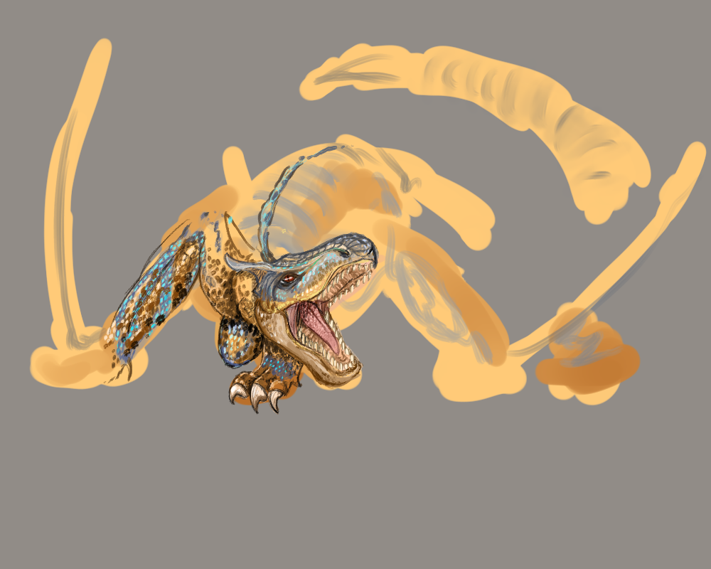Tigrex WIP by KillerBlume