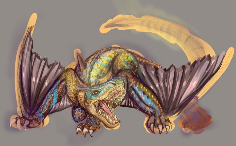 Tigrex WIP 2 by KillerBlume