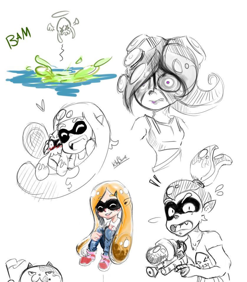 Entering the Squid Fandom by KillerBlume