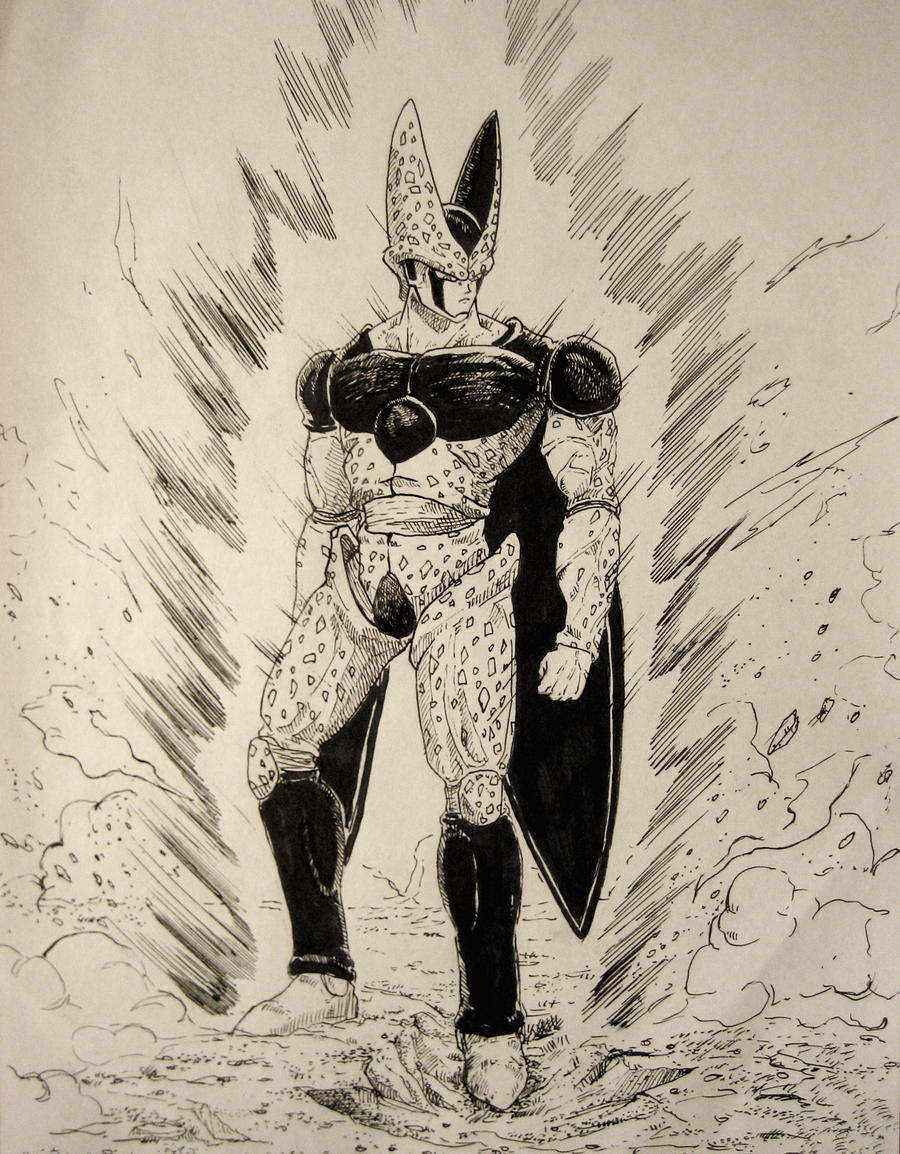 Super Perfect Cell By Minhquach94 On Deviantart