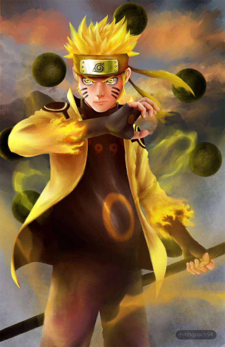 Naruto Sage Of The Six Paths Naruto - Six Pa...