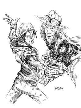 Ace Sabo in Jojo