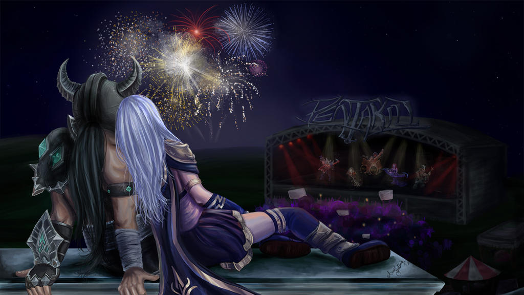 League of Legends: Canada Day/4th of July Contest by Momorii
