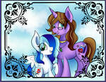 Filly Sapphy and Lavender Pages