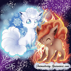 Fire and Ice by Animechristy