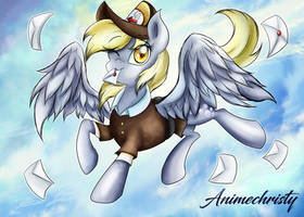 Mail Mare Derpy by Animechristy