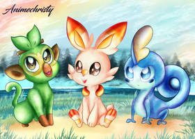 Which Starter do you Choose? by Animechristy