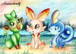Which Starter do you Choose?
