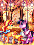 Autumn Stroll by Animechristy