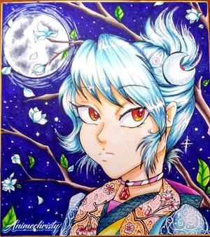Moon Princess Shikishi