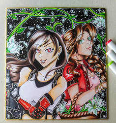 Tifa and Aerith