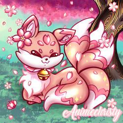 Mio the Sakura Kitsune