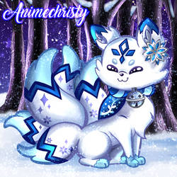 Yuki the Winter Kitsune