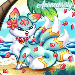 Kirika the Summer Kitsune