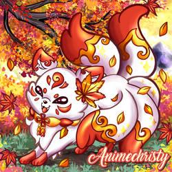 Akane the Autumn Kitsune