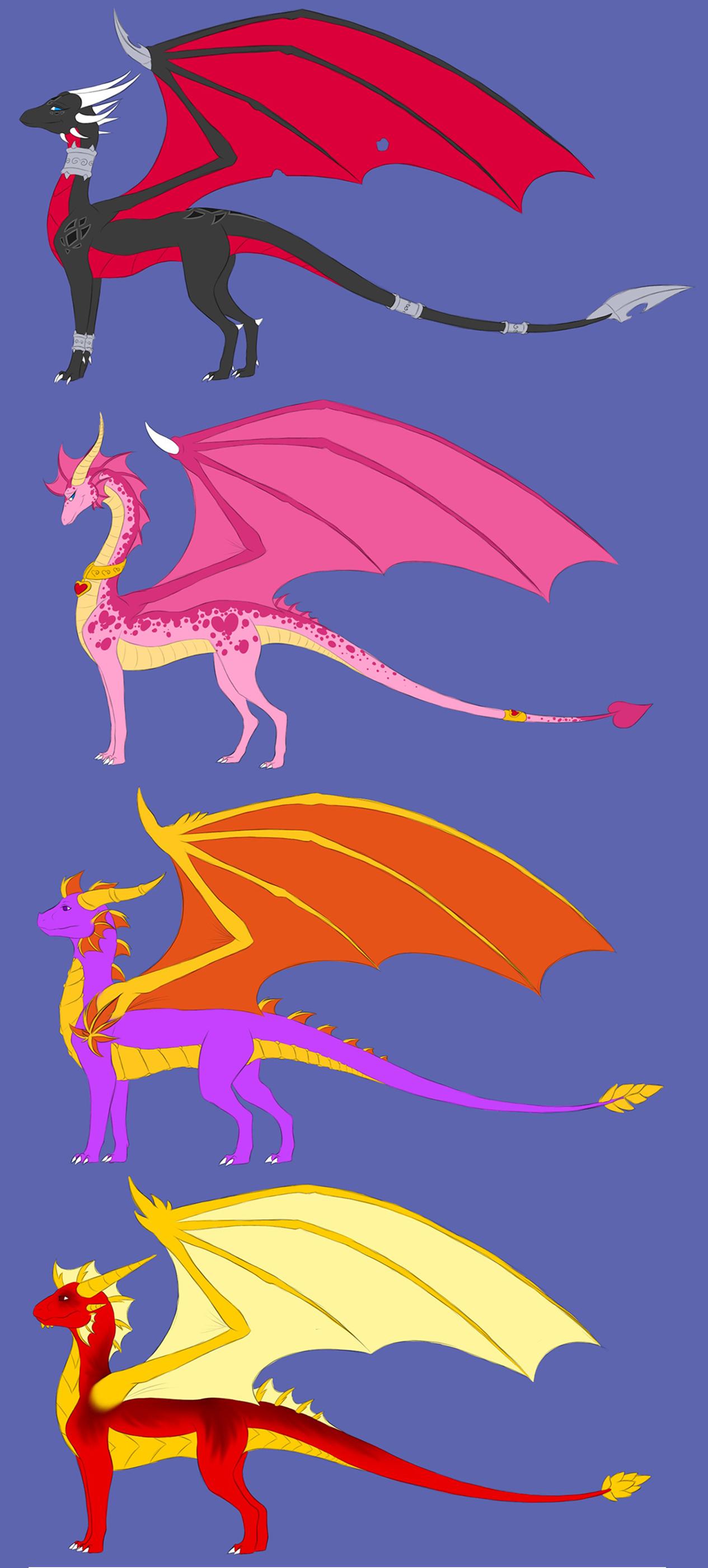 The legend of Spyro like Adult by Hiorou on DeviantArt