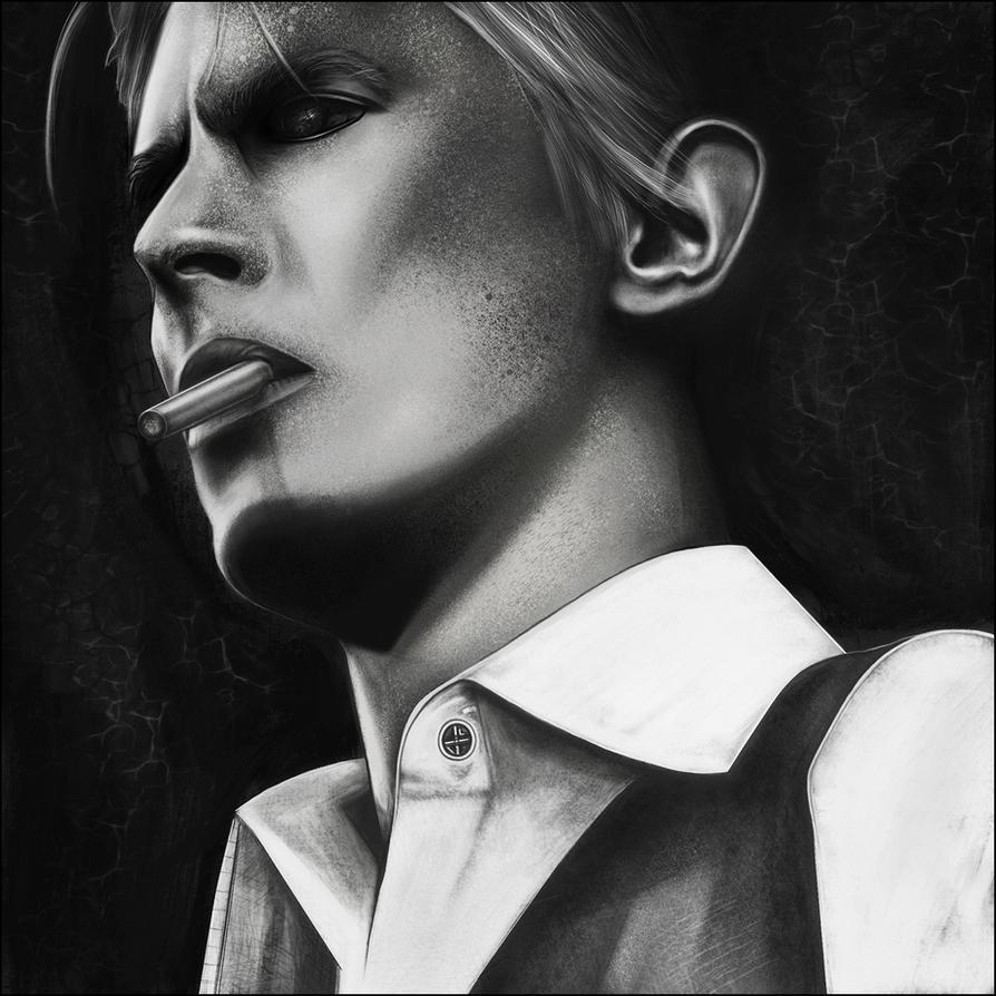 David Bowie Tribute by JacobLarenArt