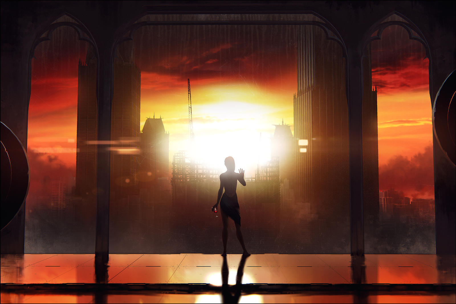 ARCHON: The Setting Sun by JLarenART