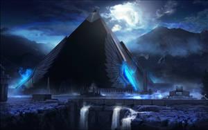ARCHON: Temple of the Immortal Queen by JLarenART
