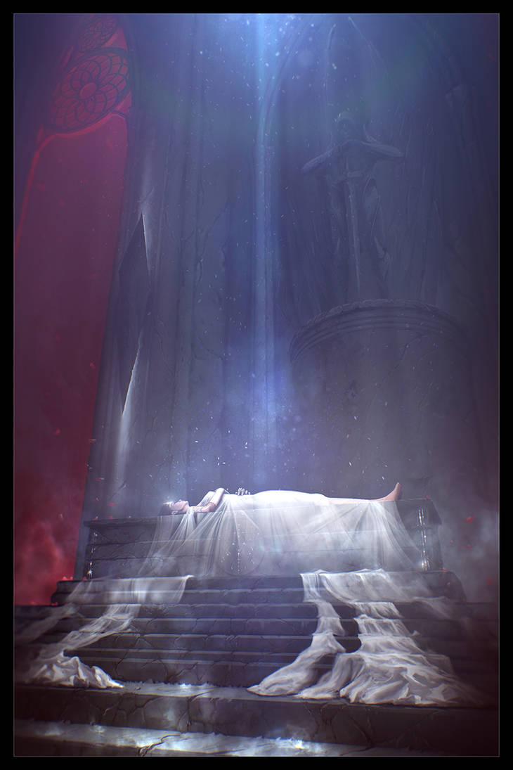 ARCHON: Samsara's Endless Dream by JLarenART