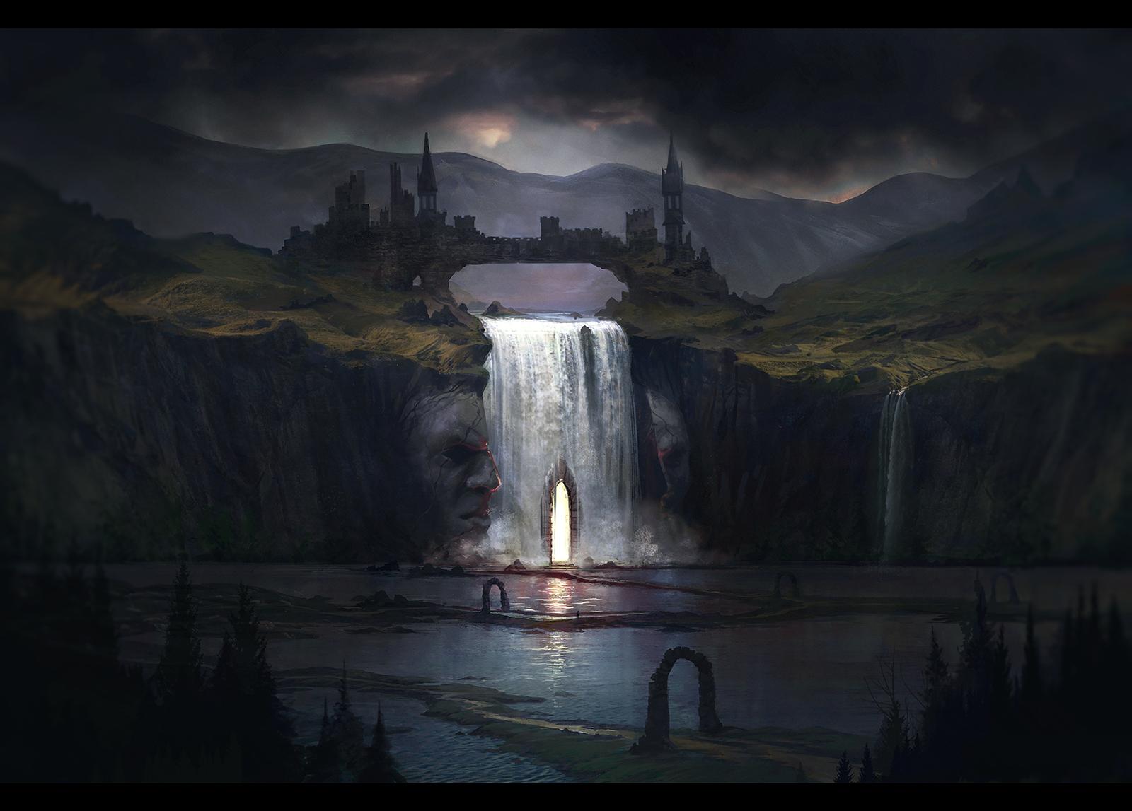 ARCHON: The Dread Mines by JLarenART
