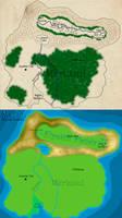 Mai'on: The Main Continent by KonekoD