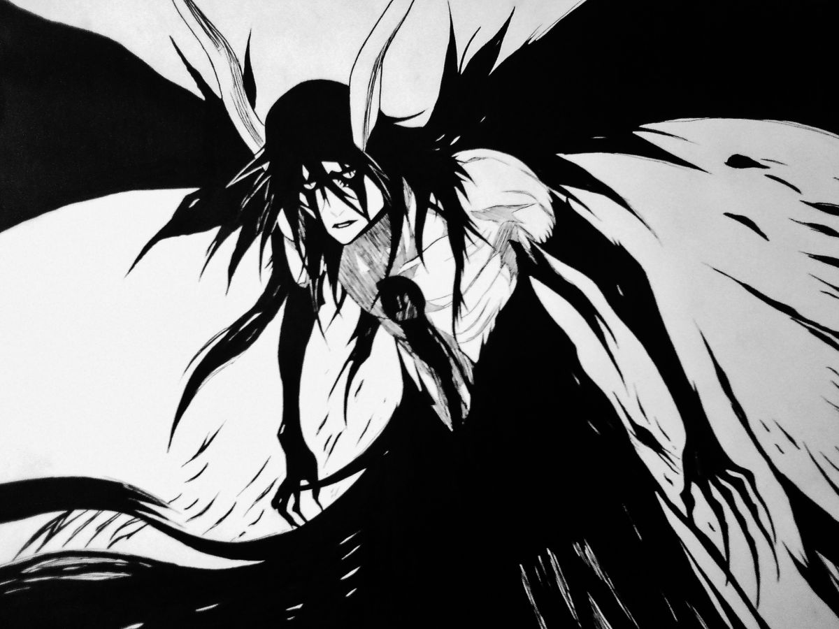 Ulquiorra schiffer 2nd resurrection