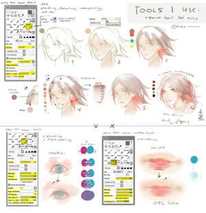 SAI: Tools I use + Settings + a bit tutorial