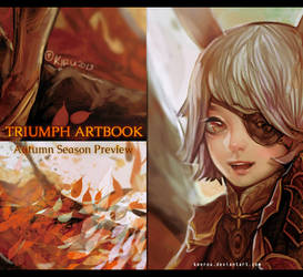 Triumph Artbook Preview by keerou
