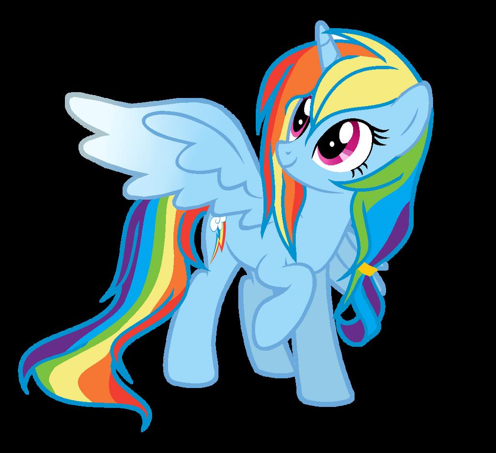 MLP Princess Rainbow Dash by MISSxRONA on DeviantArt