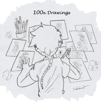 100th Drawings by Magneum