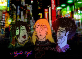 Harlock Nabeshin Night Life by Mizukami999